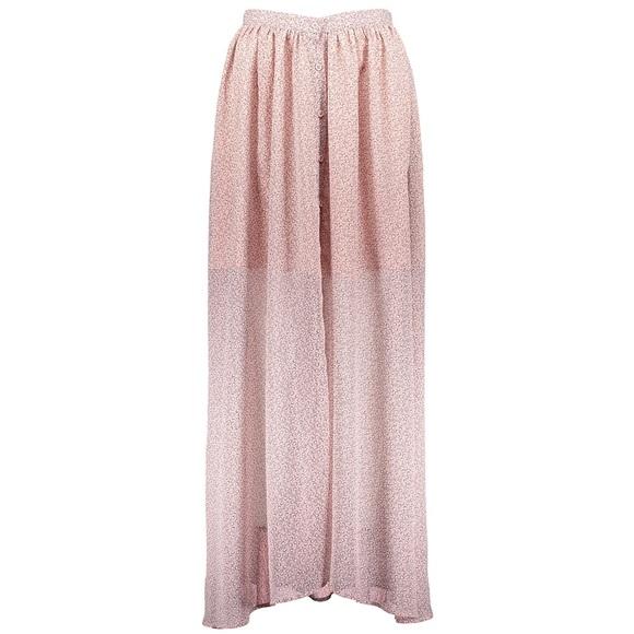 048d37462f French Connection Skirts | Elao Sheer Maxi Skirt | Poshmark